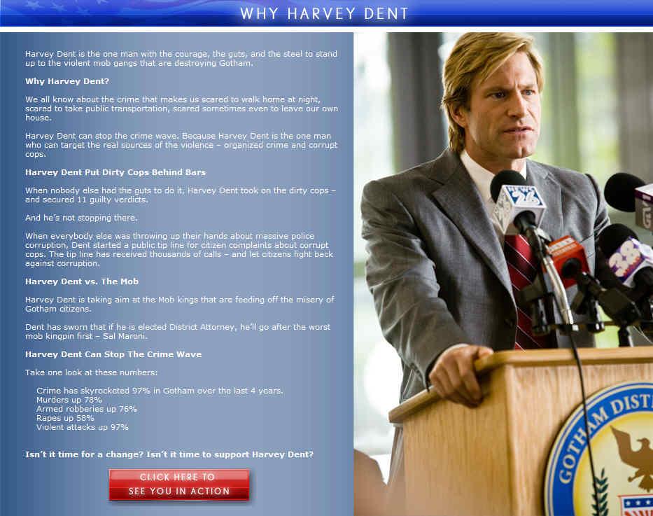 Rachel Dawes Harvey Dent