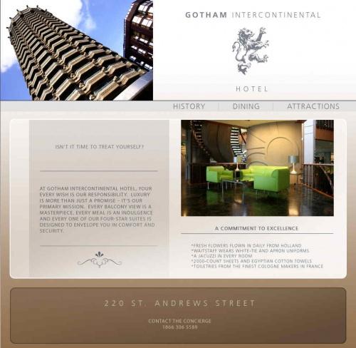 Gothamintercontinentalhotel com - Batman